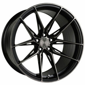 20 Vertini Rfs1 8 Black 20x9 Forged Concave Wheels Rims Fits Bmw X4