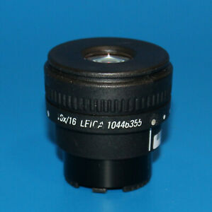 Leica 30mm Microscope Eyepiece 16x 16 Adjustable 10446355
