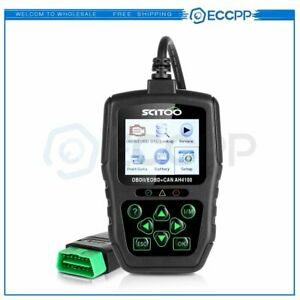 8 18v Battery Car Scanner Diagnostic Code Reader Obd2 Obdii Eobd Tool Kwp2000