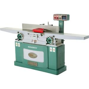 Grizzly G0495x 8 X 83 Helical Cutterhead Jointer With Exclusive Digital Hei