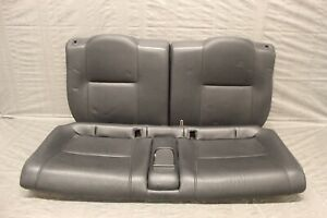 2002 04 Acura Rsx Type S K20a2 Oem Black Leather Rear Seats Dc5 4386