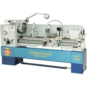 South Bend Sb1015f 16 X 60 Electronic Variable speed 440v Toolroom Lathe Wi