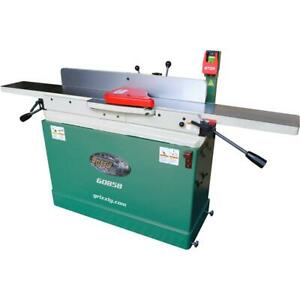 Grizzly G0858 8 X 76 Parallelogram Jointer With Helical Cutterhead