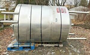 Dci 1000 Gallon Stainless Steel Mix Tank
