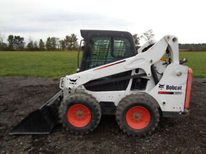 2015 Bobcat S570 Skid Steer Cab heat air Sticks pedals 61hp 2 072 Hours