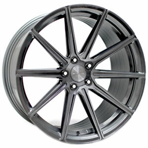 20 Stance Sf09 Grey Concave Forged Wheels Rims Fits Ford Mustang Gt