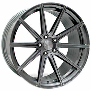 20 Stance Sf09 Grey 20x9 Concave Forged Wheels Rims Fits Volkswagen Cc