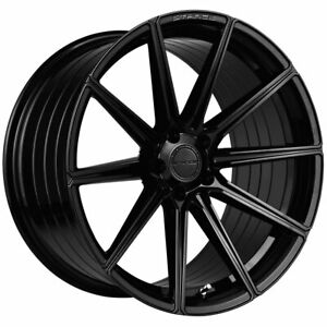 20 Stance Sf09 Black Concave Forged Wheels Rims Fits Bmw 640 650 Gran Coupe