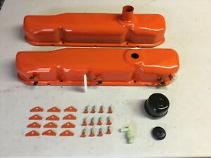 Mopar Dodge Plymouth 1969 Big Block Six Pack Valve Covers