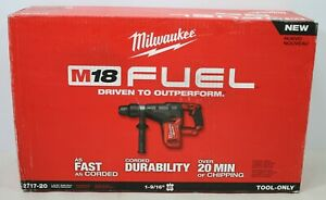 Milwaukee 2717 20 M18 Fuel 1 9 16 Sds Max Rotary Hammer Bare Tool Only New