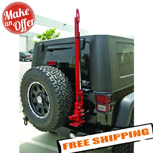 Rampage 86612 Hi Lift Jack Mount For 2007 2018 Jeep Wrangler Jk Jku