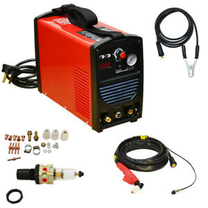 Plasma Cutter 40amp Air Inverter Welder Cut40 Cutting Welding Regulator Gauge