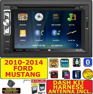 2010 2014 Ford Mustang Am Fm Cd Dvd Bluetooth Usb Aux Car Radio Stereo
