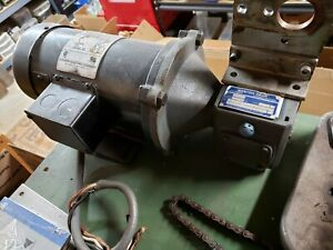 Dayton Permanent Magnet Dc Gear Motor With Dayton Dc Driver Unit Works Great