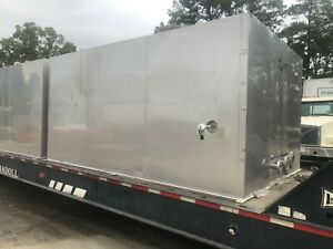 3500 Gallon approx Stainless Jacketed Atmospheric Tank