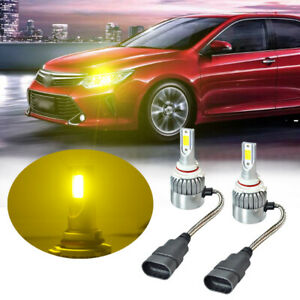 9005 Led Headlight Bulb Yellow For Sienna Camry Corolla Highlander High Beam Kit
