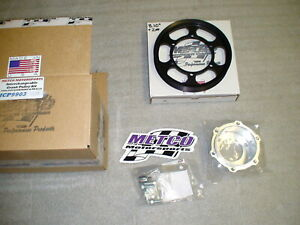 99 04 Lightning Metco Interchangeable Supercharger Lower Crank Pulley Kit 2lb 2