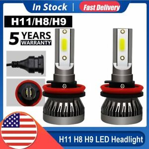 4 sides Cree H4 Led Headlight Kit Bulbs Hi lo Beam 6500k 9003 Hb2 2500w 375000lm