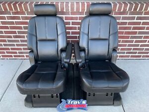 07 Gmc Yukon Denali Cadillac Escalade Tahoe 2nd Row Bucket Seats Heated