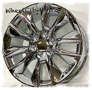 20 Inch Chrome 2019 Chevy Silverado 1500 Rst Oe Replica 2020 Wheels 6x5 5 28