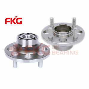 New Rear Wheel Hub Bearing Assembly For Honda Civic Rear Drum Non Abs 513035x2