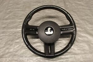2007 07 Ford Mustang Shelby Gt500 5 4l Oem Leather Steering Wheel