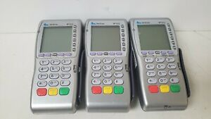 Lot Of 3 Verifone Vx670 w Wireless Debit Credit Card Terminal Vx670