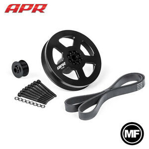 Apr Ms100185 3 0 Tfsi 187mm Supercharger Crank Pulley Upgrade Bolt on Kit
