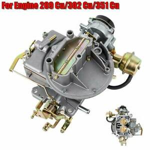 Two 2 Barrel Carburetor Carb 2100 A800 For Ford 289 302 351 Cu Jeep Engine