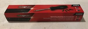 Snap On Black Magnetic Ratcheting Screwdriver Ssdmr4b