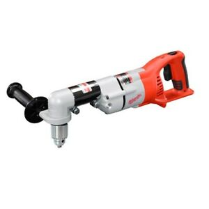 Milwaukee 0721 20 M28 28v Lith ion 1 2 Cordless Right Angle Drill driver