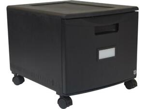 1 Drawer Mobile File Cabinet With Lock 18