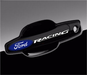 Ford Racing Stickers F150 Decals For Door Handles Mirrors Wheels 4pcs Set