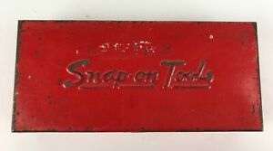 Snap On Rare Vintage Red Tool Box Kra 206 Socket 1 4 Drive Antique Usa 1958