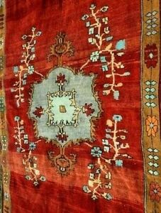 6x12 Feet Rare Antique Caucasian Nomadic Tribal Hand Knotted Cultural Wool Rug