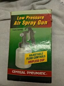 Central Pneumatic Paint Spray Gun Model 43762 Lightly Used