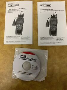 Innova Obd2 1 Pc Link Diagnostic Software Cd And Operator S Manual Only