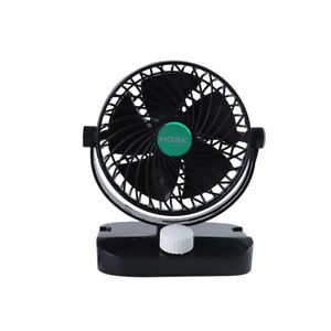 12v 6 Car Fan Strong Wind Cooler 360 Rotatable Auto Air Conditioner 2 Speed