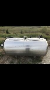 250 Gallon Stainless Steel Milk Tank And Drum