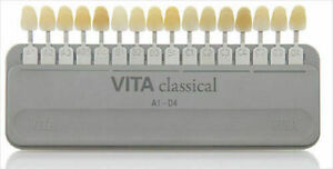 Dental Lab Vita Classic Shade Guide Original Free Shipping