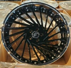 22 Forgiato Ventoso C 3 piece Wheels Dodge hell Cat Charger Challenger Srt
