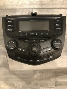 2003 2007 Honda Accord Factory 6 Disc Cd Player Radio Aux Climate Control Oem