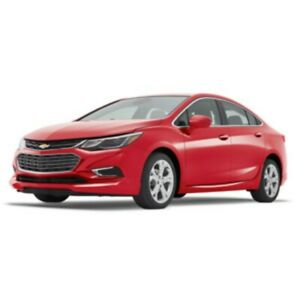 2017 2018 Chevy Cruze Ground Effects Package Red Sedan Gm 84124687