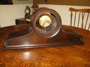 1920s Chelsea Babro Ships Clock Case With Patent Chime Nice