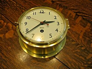 Smiths Astral Ships Clock With Center Sweep Runs Strong Very Nice