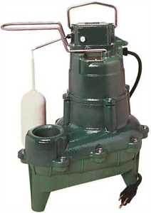 Zoeller M264 4 Hp Submersible Sewage Or Effluent Or Dewatering Automatic Pump