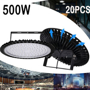 20x500W UFO LED High Bay Light Factory Warehouse Industrial Commercial Work Lamp $2,053.99