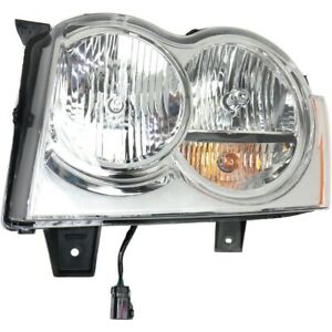 55156351ak Ch2502160 Headlight Lamp Left Hand Side Driver Lh For Grand Cherokee