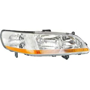 33101s84a01 Ho2503111 Headlight Lamp Right Hand Side Passenger Rh For Accord
