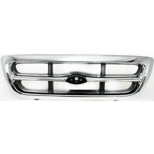 Grille For Ford Ranger 1998 2000 Fo1200340 F87z8200eaa